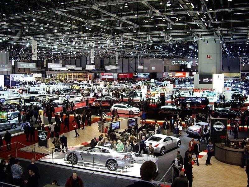 Neue Modelle Auf Dem Autosalon 2015 In Genf
