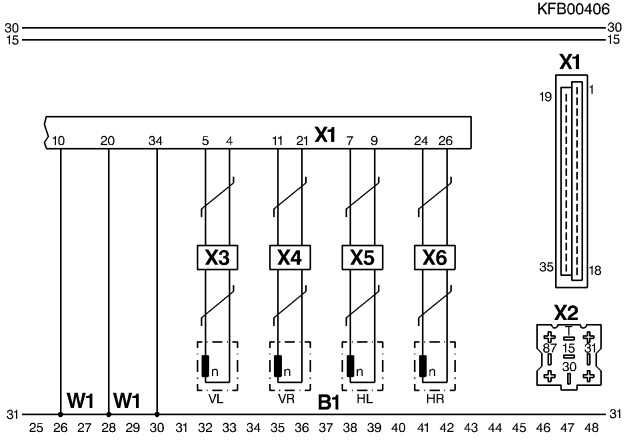 Antiblockiersystem ABS - Elektrik