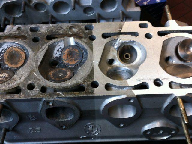 Motor und Motorteile reinigen