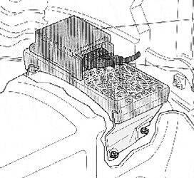 airbag komponenten bauteile. Black Bedroom Furniture Sets. Home Design Ideas